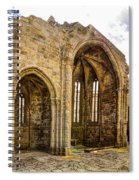 Gothic Temple Ruins - San Domingos Spiral Notebook