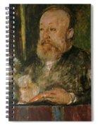 Gottfried Keller Spiral Notebook
