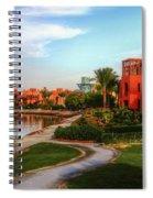 Gouna, Hurghada, Egypt  Spiral Notebook