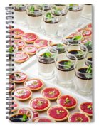 Gourmet Desserts Spiral Notebook