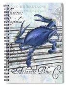 Gourmet Shellfish 1 Spiral Notebook