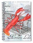Gourmet Shellfish 2 Spiral Notebook