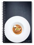 Gourmet Stuffed Squid With Vegetables In Pumpkin Curry Puree Spiral Notebook