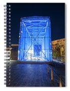 Goverment Center Boston Ma In Blue City Hall Spiral Notebook
