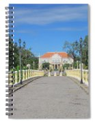 Governor Mansion In Battambang Cambodia Spiral Notebook