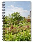 Governor's Ballroom Garden In The Spring Spiral Notebook