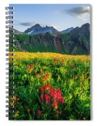 Governor's Basin In Bloom Spiral Notebook