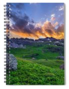Governor's Basin Sunset Spiral Notebook