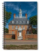 Governor's Palace Spiral Notebook