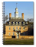 Governor's Palace Williamsburg Spiral Notebook