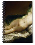 Goya: Nude Maja, C1797 Spiral Notebook