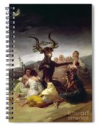 Goya: Witches Sabbath Spiral Notebook