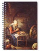 Grace Before Meat Spiral Notebook