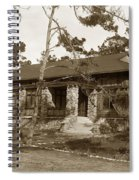 Grace H Dodge Chapel Auditorium Asilomar Circa 1925 Spiral Notebook