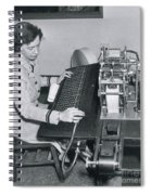 Grace Hopper, American Computer Scientist Spiral Notebook