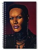 Grace Jones Spiral Notebook