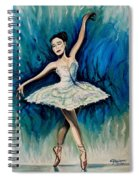 Graceful Dance Spiral Notebook