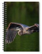 Graceful Flight Spiral Notebook