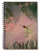 Graceful Hummingbird Spiral Notebook