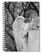 Graceland Cemetery Angel Spiral Notebook
