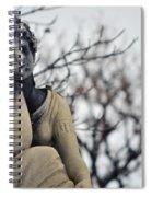Graceland Cemetery Woman Spiral Notebook