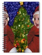 Gracies Christmas Tree Spiral Notebook