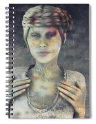Gradual Fossilization Spiral Notebook