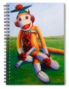 Graduate Made Of Sockies Spiral Notebook