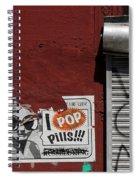 Graffiti 1 Spiral Notebook