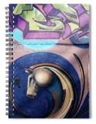 Graffiti 10 Spiral Notebook