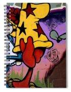 Graffiti 11 Spiral Notebook
