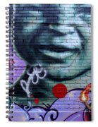 Graffiti 18 Spiral Notebook