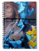 Graffiti 19 Spiral Notebook