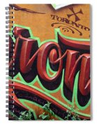 Graffiti 22 Spiral Notebook