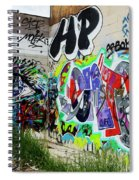 Graffiti 3 Spiral Notebook