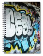 Graffiti 4 Spiral Notebook
