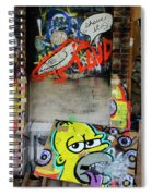 Graffiti 5 Spiral Notebook