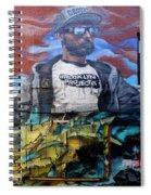 Graffiti 6 Spiral Notebook