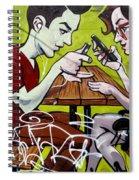 Graffiti 7 Spiral Notebook