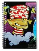 Graffiti 8 Spiral Notebook