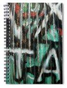 Graffiti Abstract 1 Spiral Notebook