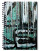 Graffiti Abstract 2 Spiral Notebook