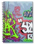 Graffiti Art 05102017a Spiral Notebook