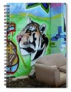 Graffiti Art Albuquerque New Mexico 7 Spiral Notebook