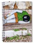 Graffiti Art Lencois Brazil Spiral Notebook
