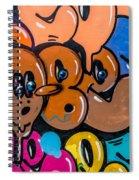 Graffiti Art Nyc 10 Spiral Notebook