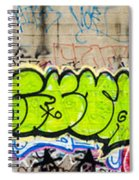 Graffiti Art Nyc 3 Spiral Notebook