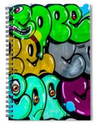 Graffiti Art Nyc 8 Spiral Notebook