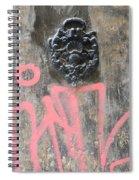 Graffiti Door Knocker Spiral Notebook