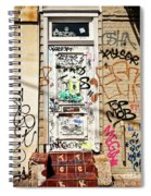 Graffiti Doorway New Orleans Spiral Notebook